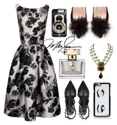 """Sophia #2504"" by gaburrus ❤ liked on Polyvore featuring mode, Chi Chi, Valentino, Gucci en Kate Spade"