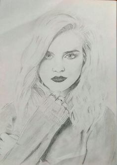 Perrie Edwards portrait by Nicamika