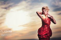 loredana novotni foto vlad gherman flashme cluj photo shoot (3) Photo Shoot, Sunset, Formal Dresses, Model, Red, Fashion, Photoshoot, Dresses For Formal, Moda