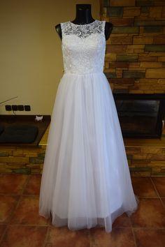 bílé svatební šaty
