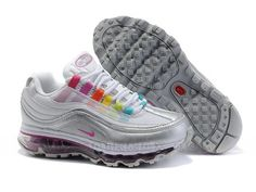 official photos 0917a 3a462 Find 401258 101 Womens Nike Air Max Metallic Silver White Multi Super Deals  online or in Pumaslides. Shop Top Brands and the latest styles 401258 101  Womens ...