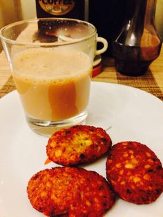Paripppu Vada (Dal Vada) and Chaya (Tea).... A typical Kerala snack for evenings...!!! ~ #Nostalgic