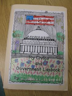 Third Grade Thinkers: Civics and Government Lapbook: A Make and Take Study Guide