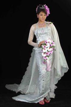 Burmese Wedding Dress