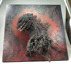 メディアツイート: 大山竜(@oyamaryu3333333)さん | Twitter Godzilla Suit, Godzilla Tattoo, Godzilla Franchise, Japanese Show, Japanese Superheroes, Cool Monsters, Resin Art, Sculpture Art, Orlando