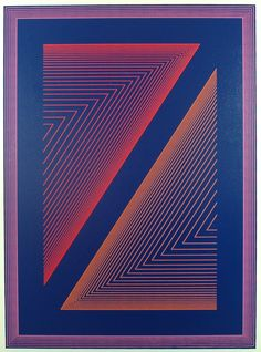 Richard Anuszkiewicz / Reflections VI