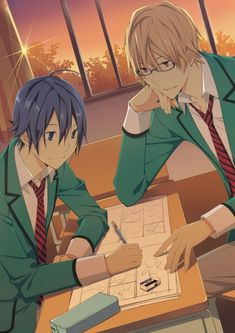 ...I really need to get back into Bakuman. -w- <<< Bakuman is literally one of my favorite mangas/animes