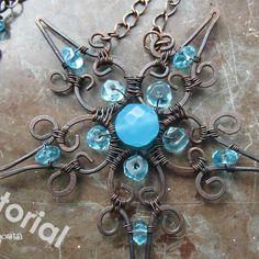 wirework pendant