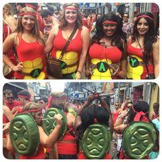 Ninja turtles unite!