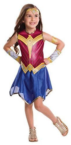 Rubie's Costume Batman vs Superman: Dawn of Justice Wonder Woman Value Costume, Large
