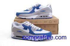 uk availability b8f3e b3fe7 Comprar barato hombre Nike Air Max Zapatillas (color blanco,gris,azul) en  linea en Espana.