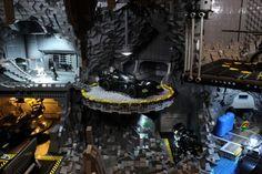 Batcaverna de Lego. AWESOME!