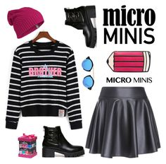 """New Trend: Micro Mini Skirts 2"" by paculi ❤ liked on Polyvore featuring Tri-coastal Design, Icebreaker, Illesteva, fall2015 and microminis"