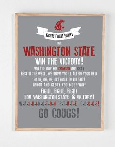 Make something like this for our family room.  Go Cougs!