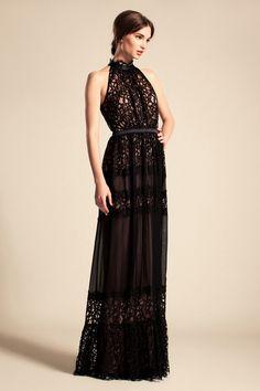 Temperley London Resort 2014 #black #gown #gorgeous