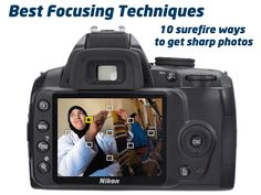 Best Camera Focus Techniques: 10 surefire ways to get sharp photos every time you shoot Photography Basics, Photography Lessons, Photoshop Photography, Camera Photography, Photography Tutorials, Photography Photos, Digital Photography, Photography School, Flash Photography