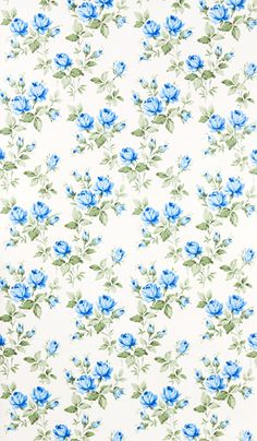 Vintage floral print / pattern wallpaper #retro