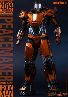 Hot Toys - Iron Man 3 - Peacemaker (Mark XXXVI) Collectible Figure_PR1 1__scaled_600