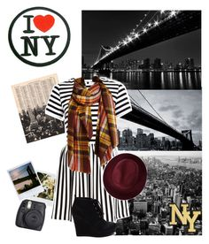 """A Day in the City"" by genesis129 ❤ liked on Polyvore featuring 1Wall, Dot & Bo, River Island, Redopin, SAM, Fuji, Newyork and goals"