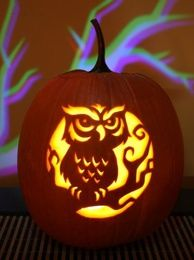 Pumpkin Carving Patterns and Stencils - Zombie Pumpkins!