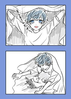 3 Aaaa... Kawai \(╯▽╰)*nosebleedssss* Dramatical Murder, Kawaii, Anime Boyfriend, Cute Comics, Cute Anime Boy, Cute Chibi, Manga Boy, Beautiful Voice, New Theme