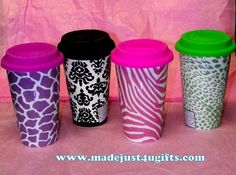 I love these ceramic travel mugs!