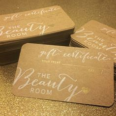 Gift Certificate from Kana Brown's Beauty Room