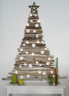 15 Fantastic Alternative Christmas Tree Ideas | Inthralld