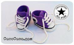 Si os han gustado estos patucos de crochet tanto como a nosotros, aquí tenéis el tutorial para hacerlos.