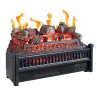 The Comfort Glow Electric Log Insert Heater With Firebox Flame Projection gives you fireplace charm with electric-heater efficiency. This heater provides. Fireplace Heater, Wood Fireplace, Fireplace Inserts, Modern Fireplace, Fireplace Ideas, Electric Fireplace Logs, Electric Logs, Electric Fireplaces