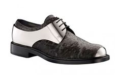 Louis Vuitton Metal Lace-Up Shoes. These are ridiculous and I love them for it.