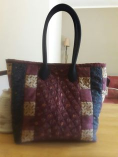My first patchwork bag