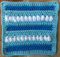 Winter Solstice Crochet Dishcloth – Maggie Weldon Maggies Crochet ~ free pattern