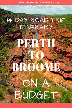 Perth to Broome on a Budget // The Perfect 14 Day Road Trip Der ultimative Roadtrip in Westaustralien // Mit kleinem Budget nach Broome {Big World Small Pockets} BUDGET TRAVEL (Visited 1 times, 1 visits today) Camping Hacks, Road Trip Hacks, Australia Travel Guide, Visit Australia, Australia Map, Roadtrip Australia, Brisbane, Australian Road Trip, Westerns