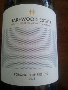 #HarewoodEstate Porongurup #Riesling 2013  (#RNAWA13)