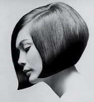 Vidal Sassoon is known for dark, shiny, straight, sleek hair cut in geometric shapes. In 1963, he created an updated bob cut which changed the face of modern hair.