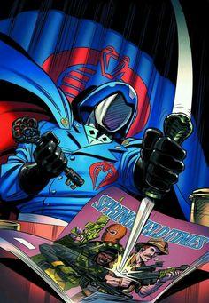 Cobra Commander, Gi Joe Cobra, Cartoon Movies, Comic Art, Dc Comics, Nostalgia, The Past, Geek Stuff, Cosplay