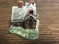 Sebastian Miniature-House of Seven Glables-Salem, Mass Collector Piece, Colonial Life and Times Figurine, Famous Places, Historic Houses by GoldenGateBoutique on Etsy