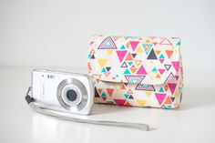 my weekend sewing project: padded camera pouch / pattern by keyka lou