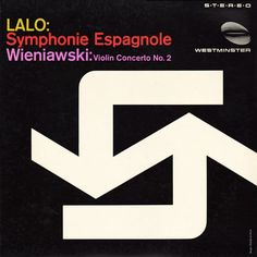 Project Thirty-Three: Symphonie Espagnole. Cover by Rudolph De Harak.