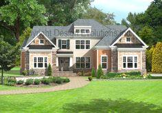 The Faulkner A - DE028A, Craftsman style house with 4 Bedrooms, 3-1/2 Bathrooms, Total sq ft: 3,100