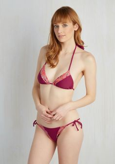 68f2793629f1e Poolside Panache Swimsuit Top by High Dive by ModCloth - Pink