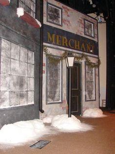 Faith Theater Co.: A Christmas Carol Set Design