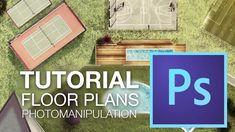 RENDERING FLOOR PLANS with Adobe Photoshop CC // Photomanipulation Mejora tus planos y proyectos con una simple fotomanipulación con Adobe Photoshop CC. Apli...