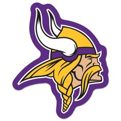 Minnesota Vikings NFL Automotive Grille Logo on the GOGO