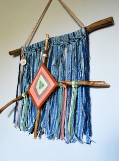 Hey, I found this really awesome Etsy listing at https://www.etsy.com/listing/481578601/jeans-wallhanging-textile-wallhanging