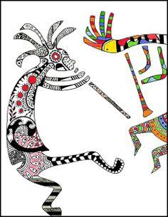 kokopelli dancers
