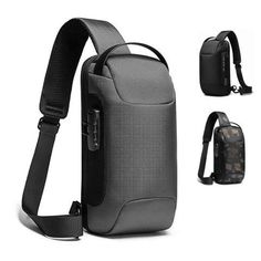 This Super Stylish MRoyale™ Anti-Theft Sling Backpack Carries & Secures Your Essential Belongings with Ergonomic Comfort! Well-Constructed Durable, water-resistant and tear-resistant quality fabric makes this your long lasting companion for the toughest use! Stylish The modern design has a premium feel, giving it a touch of elegance with contemporary styling. Ergonomic Perfectly designed to nicely fit your body to stay in place, even while running! Compact, Yet Roomy Generous enough for your Small Backpack, Mini Backpack, Day Bag, Traveling By Yourself, Shoulder Strap, Modern Design, Usb, Backpacks, Touch
