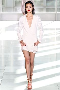 See the complete Antonio Berardi Spring 2014 Ready-to-Wear collection.