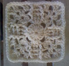 """BlueDragonFly Designs on a Hook: PINEAPPLE SUN SQUARE 6""""   Free crochet pattern"""